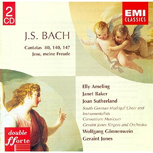 BACH: CANTATAS - AMELING, BAKER, SUTHERLAND (2 CDS)
