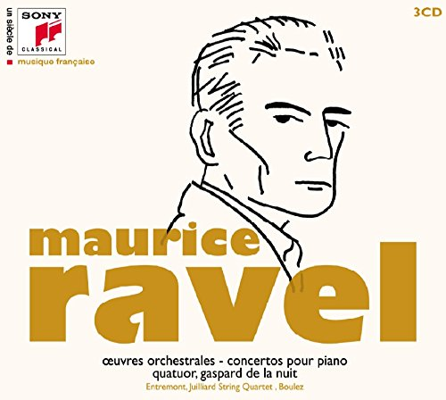 20TH CENTURY FRENCH: MAURICE RAVEL (3 CDS)