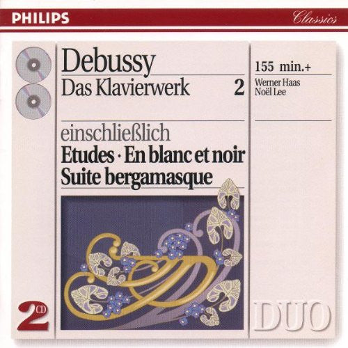 Debussy: The Complete Solo Piano Music, Vol. 2 - Werner Haas (2 CD)