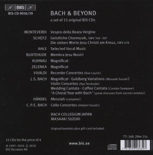 Bach And Beyond Suzuki