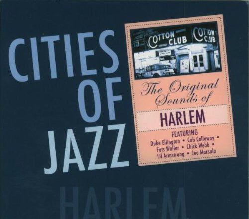 CITIES OF JAZZ-HARLEM Duke Ellington,Cab Calloway,Jimmie Lunceford,Louis Armstrong...
