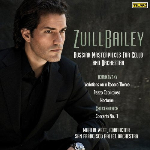 Russian Masterpieces For Cello & Orchestra - Zuill Bailey, San Francisco Ballet Orchestra