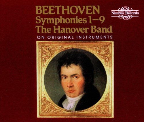 Beethoven: The 9 Symphonies - Hanover Band (5 CDs)