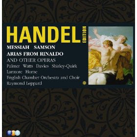 Handel: Messiah; Samson, Arias from Rinaldo and Other Works - Raymond Leppard, English Chamber Orchestra (6 CDs)