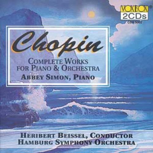Chopin: Complete Music for Piano and Orchestra - Abbey Simon (2 CDs)
