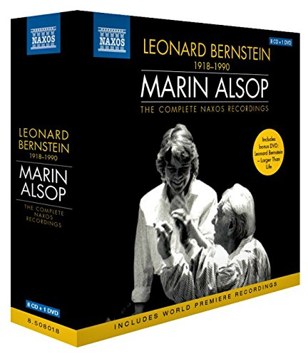 BERNSTEIN: THE COMPLETE NAXOS RECORDINGS (8 CDS + 1 DVD)