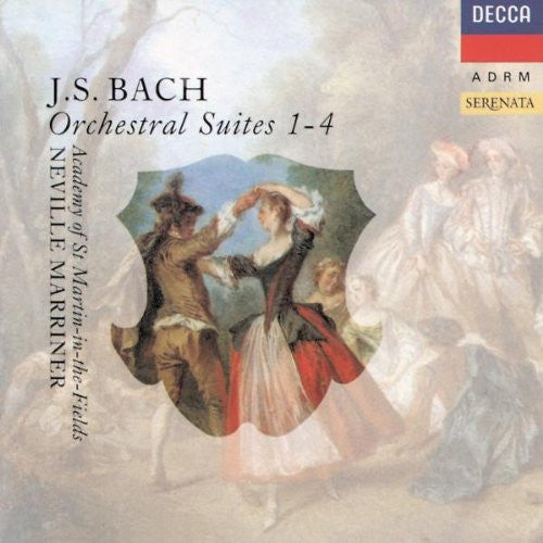 Bach: Orchestral Suites 1-4 - Neville Marriner, Academy of St. Martin in the Fields, Dart (2 CDs)