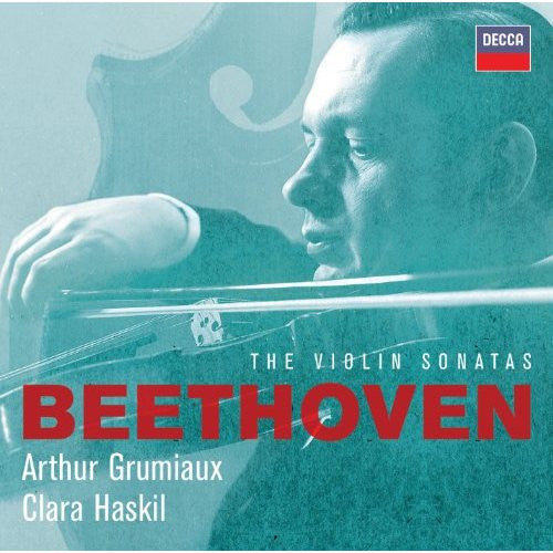 BEETHOVEN: THE VIOLIN SONATAS - GRUMIAUX, HASKIL (4 CDs)