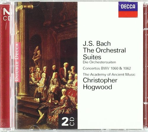 BACH, J.S.: ORCHESTRAL SUITES - HOGWOOD, ACADEMY OF ANCIENT MUSIC (2 CDS)