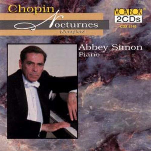 Chopin: The Complete Nocturnes - Abbey Simon (2 CDs)