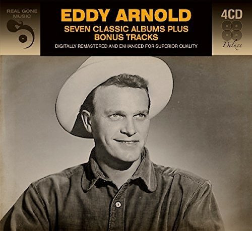 EDDY ARNOLD (4CD SET): Seven Classic Albums + Bonus Tracks - Digitally Remastered
