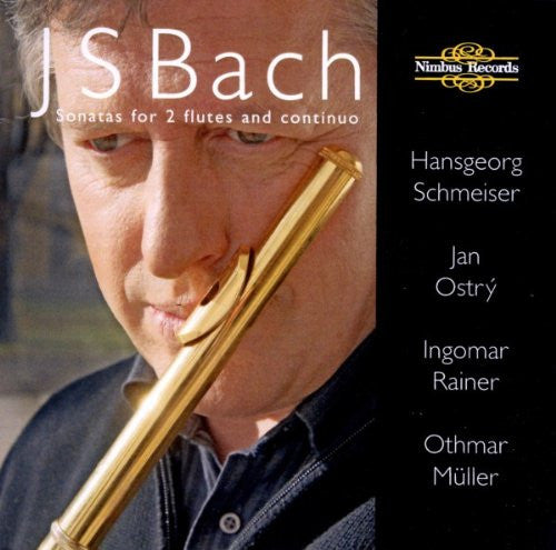 Bach, J. S.: Sonatas for 2 Flutes and continuo - Schmeiser, Ostry, Rainer, Muller