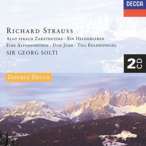R. Strauss: The Great Tone Poems - Sir Georg Solti (2 CDs)