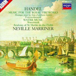 Handel: Music for the Royal Fireworks, Water Music - Academy of St. Martin in the Fields, Marriner