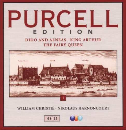 PURCELL EDITION, VOLUME 1: THEATER MUSIC - DIDO & AENEAS, KING ARTHUR, FAIRY QUEEN