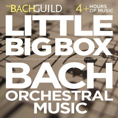 Little Box of Bach Orchestral Music (4 Hour Digital Download)