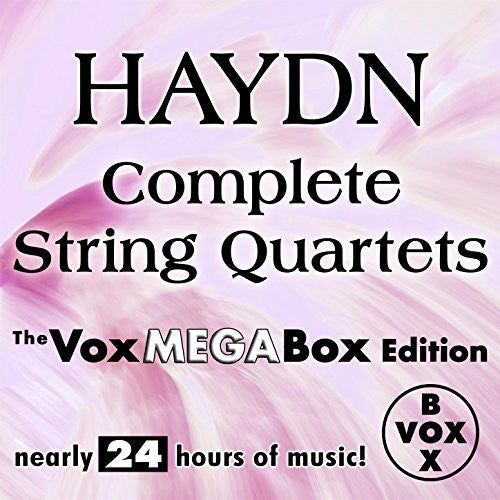 Haydn: The Complete String Quartets (Vox Mega-Box Digital Download)