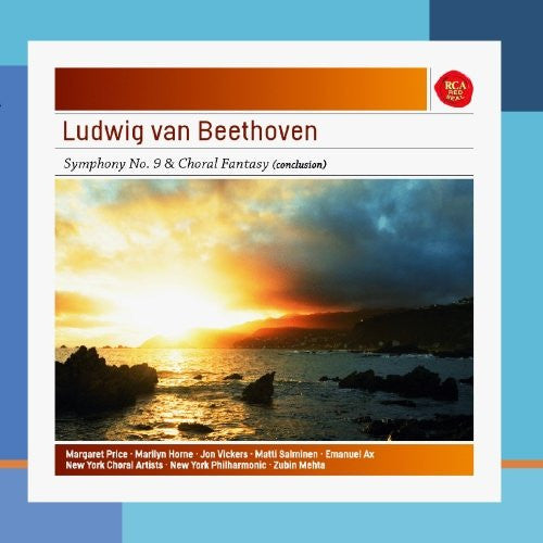 BEETHOVEN: SYMPHONY NO. 9 OP. 125; CHORAL FANTASY - MEHTA, NEW YORK PHILHARMONIC