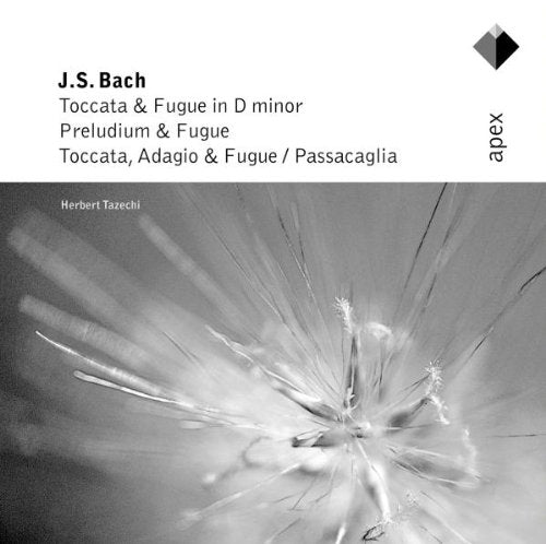 BACH: TOCCATA & FUGUE IN D MINOR, AND OTHER GREAT ORGAN WORKS - HERBERT TACHEZI