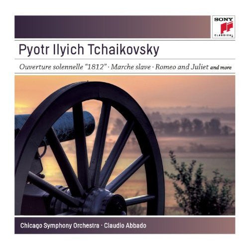 TCHAIKOVSKY: 1812 OVERTURE;  MARCHE SLAVE; ROMEO AND JULIET; THE TEMPEST - ABBADO, CHICAGO SYMPHONY