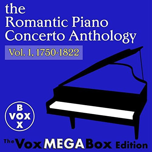 The Romantic Piano Concerto Anthology, Volume 1 (VoxBox Digital Download Boxed Set)