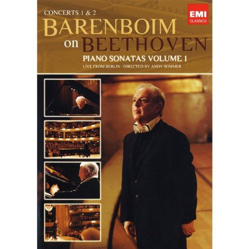 Barenboim On Beethoven: PIANO SONATAS VOLUME 1 - LIVE FROM BERLIN