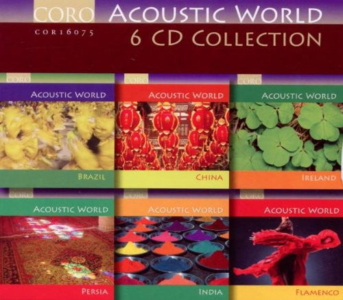 ACOUSTIC WORLD COLLECTION (6 CDs) - The Sixteen