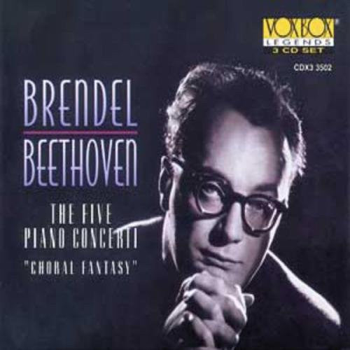 Beethoven: Five Piano Concerti, Choral Fantasy / Brendel - 3 CDs
