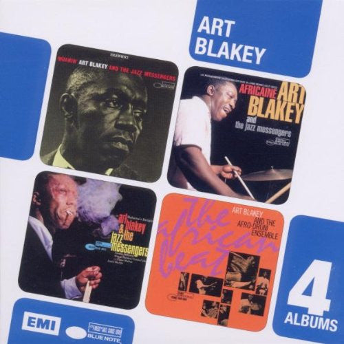 BLAKEY, ART (4CD SET): Moanin'/Africaine/Buhaina's Delight/The African Beat