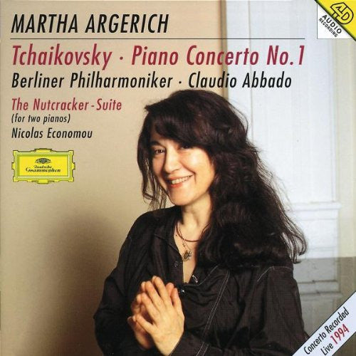 Tchaikovsky: Piano Concerto No. 1 and Nutcracker Suite (for Two Pianos) - Martha Argerich, Claudio Abbado, Berlin Philharmonic
