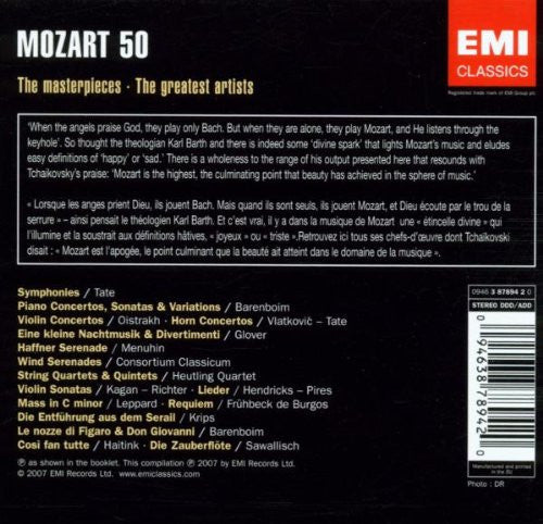 Mozart: The Collectors Edition - 50 CDs