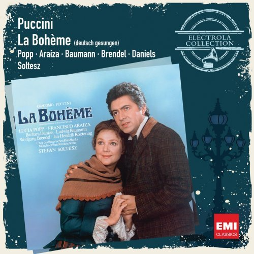 PUCCINI: LA BOHEME (SUNG IN GERMAN) - ELECTROLA COLLECTION; POPP, L. (2 CDs)