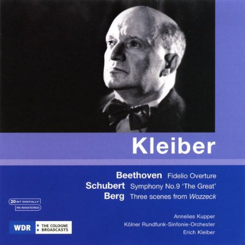 ERICH KLEIBER CONDUCTS BEETHOVEN, SCHUBERT AND BERG