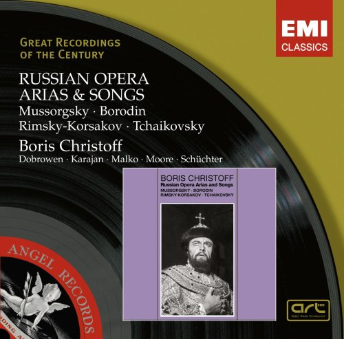 RUSSIAN OPERA ARIAS & SONGS:  CHRISTOFF, BORIS