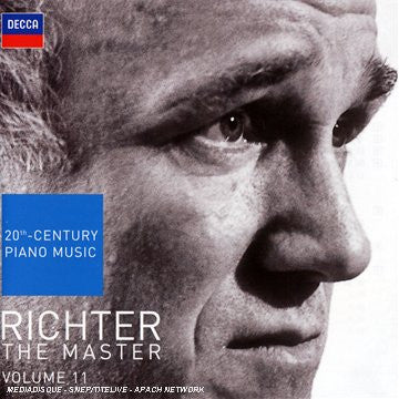 RICHTER: The Master Volume 11 - 20th Century Piano Music (2 CDs)