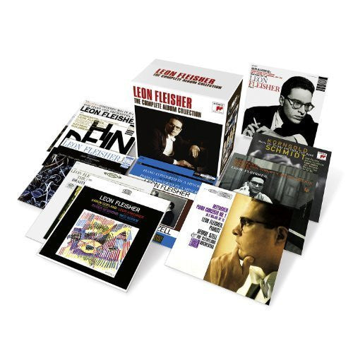 LEON FLEISHER - THE COMPLETE ALBUM COLLECTION (23 CDs)