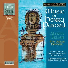 Alfred Deller: The Complete Vanguard Recordings Volume 2 — Music of Henry Purcell (6 CDs)