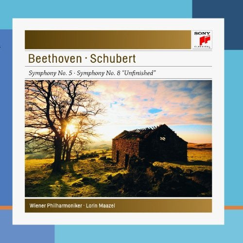 "BEETHOVEN: SYMPHONY NO. 5 & SCHUBERT: SYMPHONY NO. 8 ""UNFINISHED"" - MAAZEL, VIENNA PHILHARMONIC"