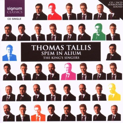 Tallis: Spem in alium for eight five-part choirs '40-part Motet'- King's Singers (CD Single)