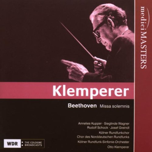 KLEMPERER CONDUCTS BEETHOVEN'S MISSA SOLEMNIS