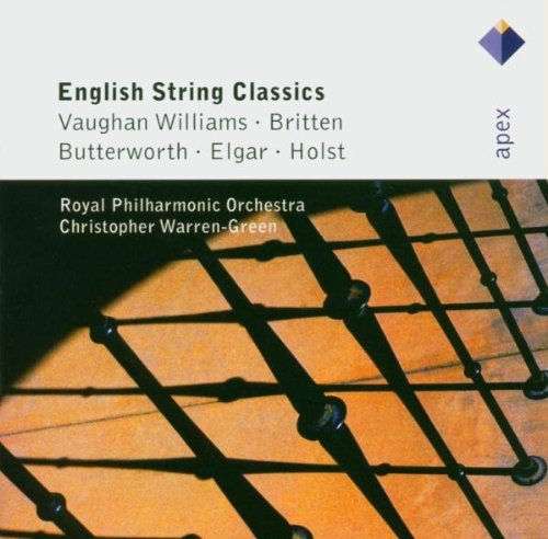 VAUGHAN WILLIAMS; BRITTEN; BUTTERWORTH, ELGAR, HOLST: ENGLISH STRING CLASSICS - GOULD; RPO