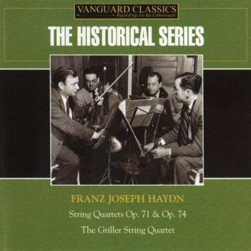 HAYDN: STRING QUARTETS OP 71, 74 - Griller String Quartet (2 CDs)