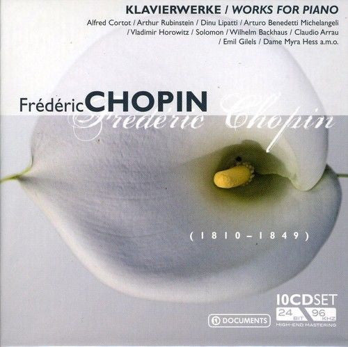 CHOPIN: Works For Piano (10CD SET)