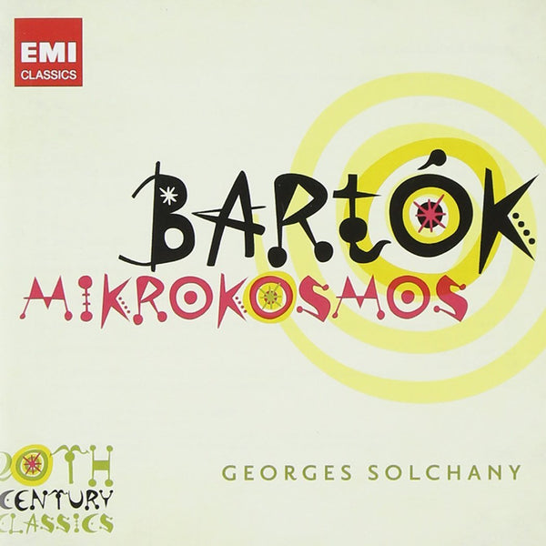 BARTOK: MIKROKOSMOS SELECTIONS - SOLCHANY, GEORGES (2 CDS)