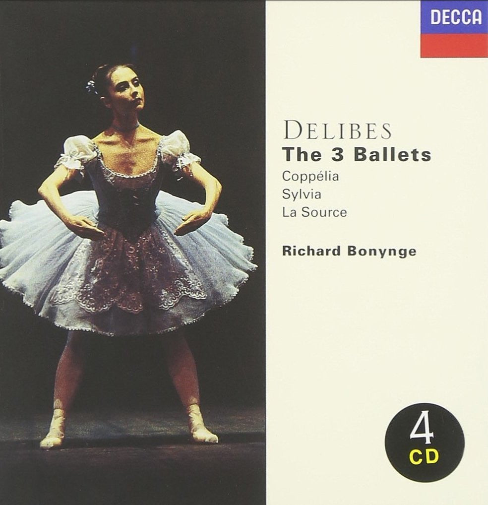 DELIBES: THE THREE BALLETS (4 CDS)