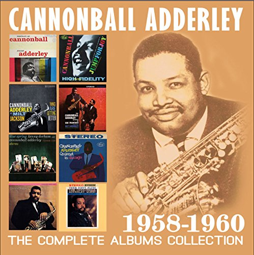 Cannonball Adderley - Complete Albums Collection 1958-1960 (4 CDS)