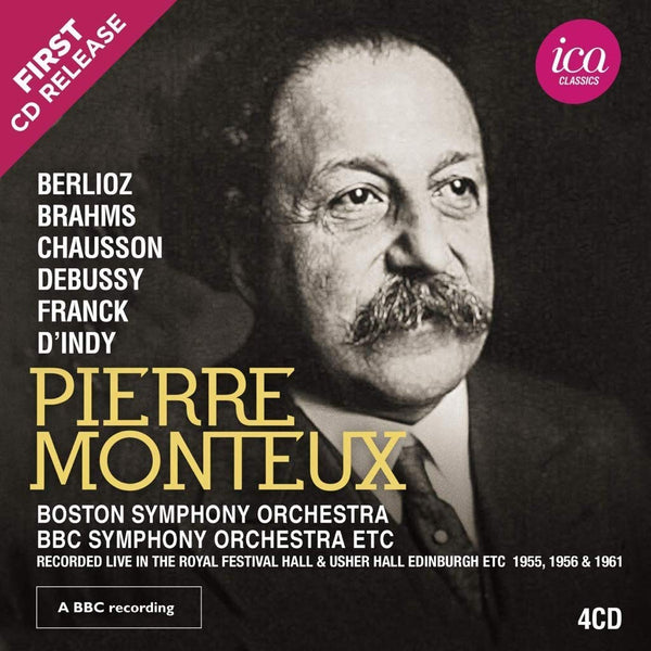 PIERRE MONTEUX: Berlioz, Brahms, Chausson & Others (The Richard Itter Collection - 4 CDS)
