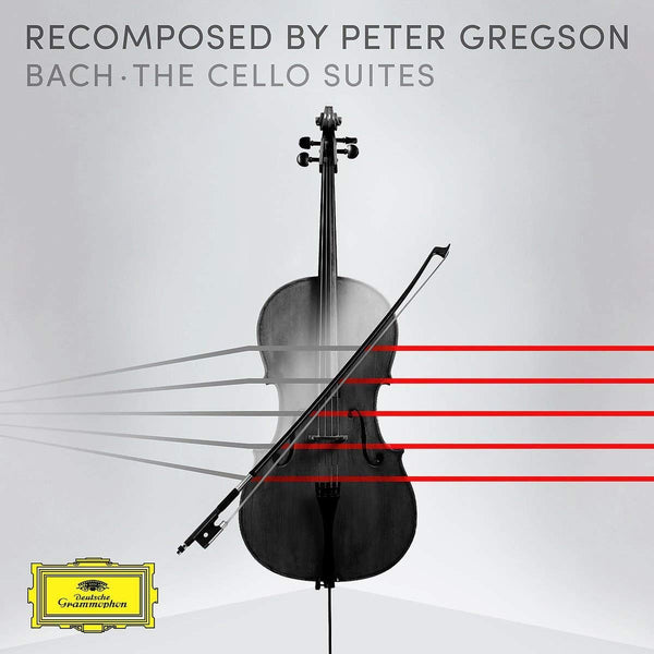 BACH CELLO SUITES RECOMPOSED - PETER GREGSON (2 CDS)