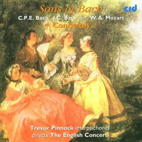 Sons of Bach - Trevor Pinnock, English Concert