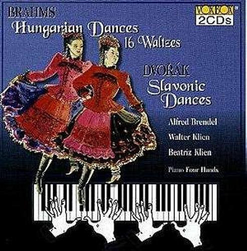 Brahms: Hungarian Dances; Dvorak: Slavonic Dances (for Piano) - Walter Klien, Alfred Brendel (2 CDs)
